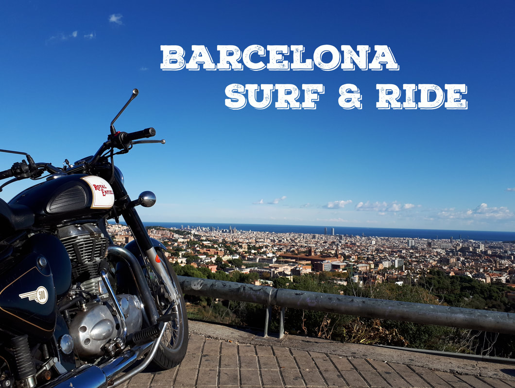 Barcelona Surf And Ride Royal Enfield